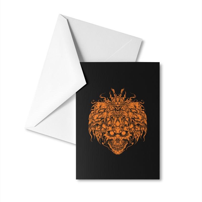 skull tattoo Accessories Greeting Card by T.JEF