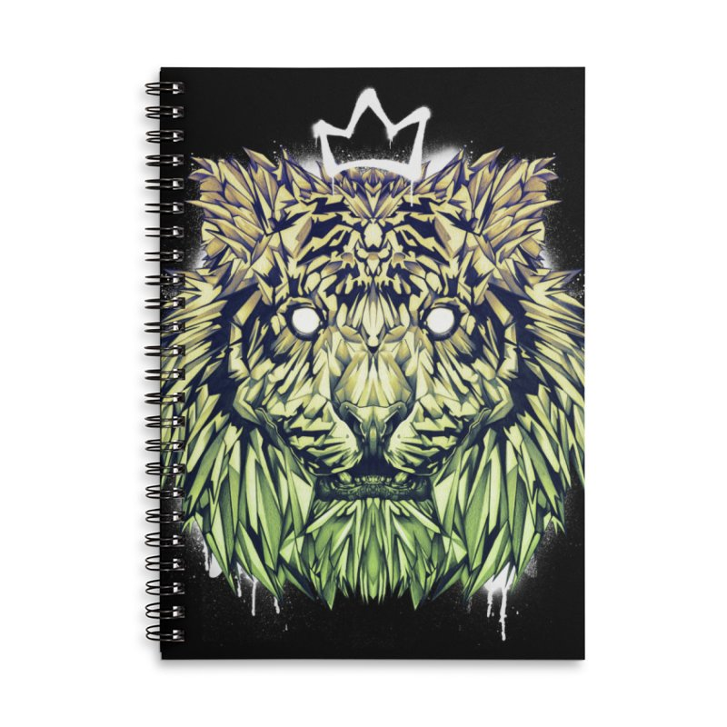 Urban Tiger Accessories Notebook by T.JEF