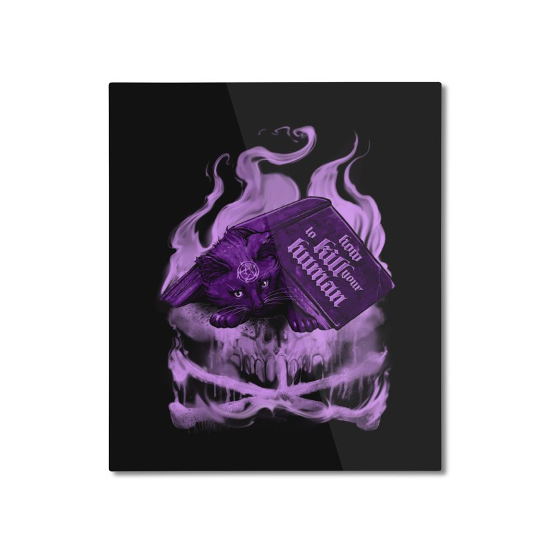 KILL lessons Home Mounted Aluminum Print by T.JEF