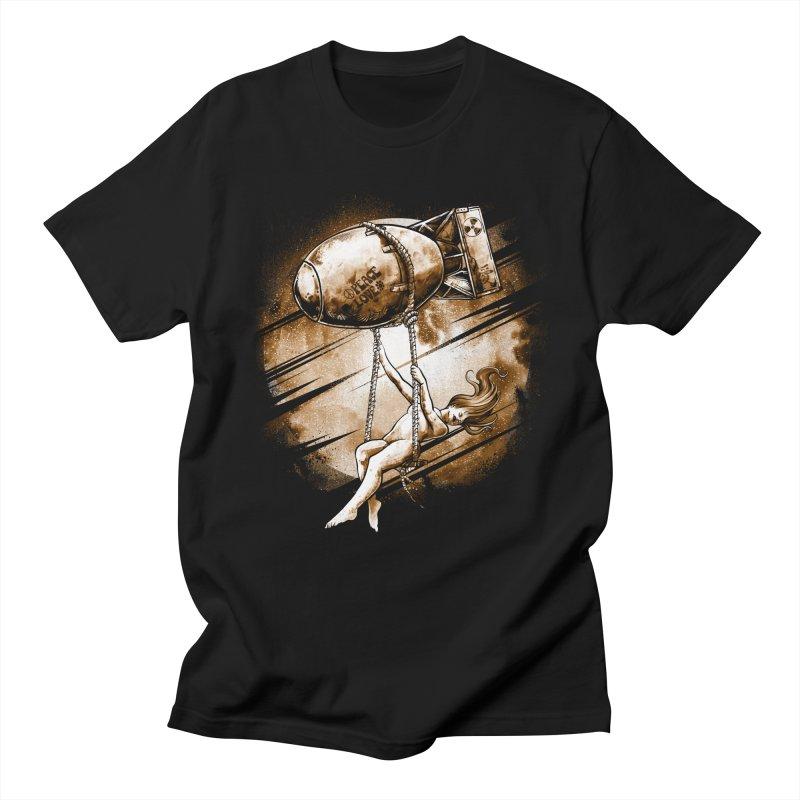 Peace Love Men's T-Shirt by T.JEF