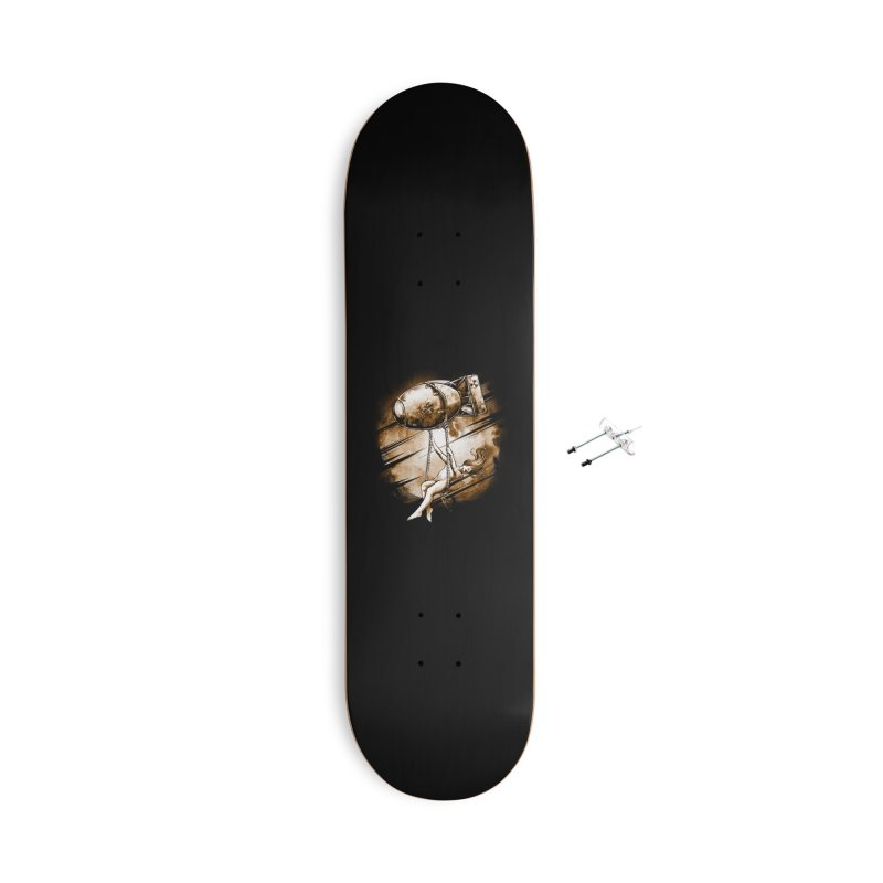Peace Love Accessories Skateboard by T.JEF