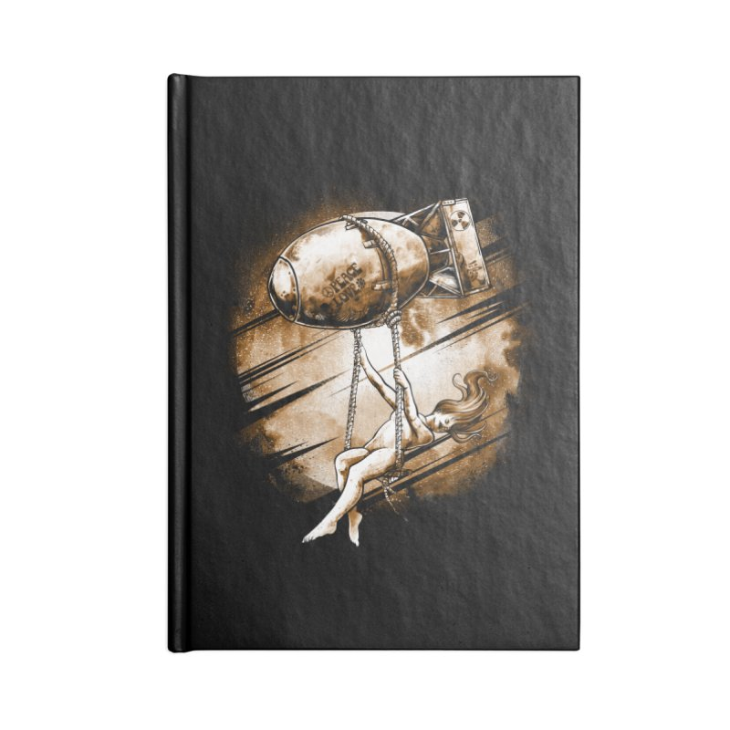 Peace Love Accessories Notebook by T.JEF