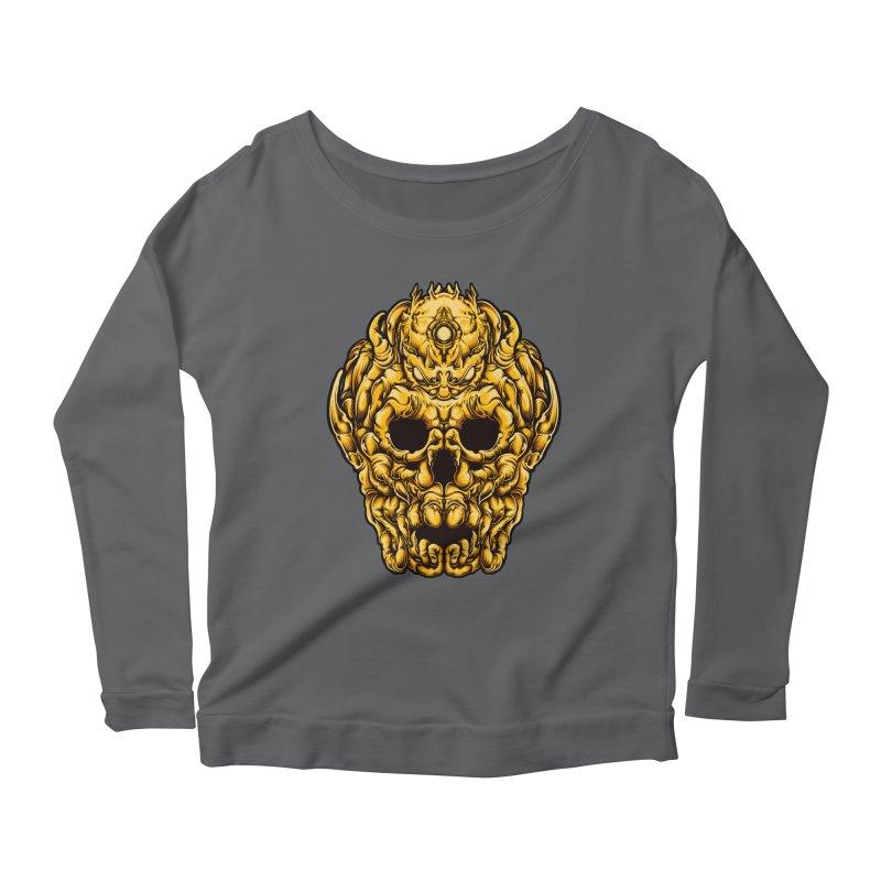 OCTOSKULL Women's Longsleeve T-Shirt by T.JEF