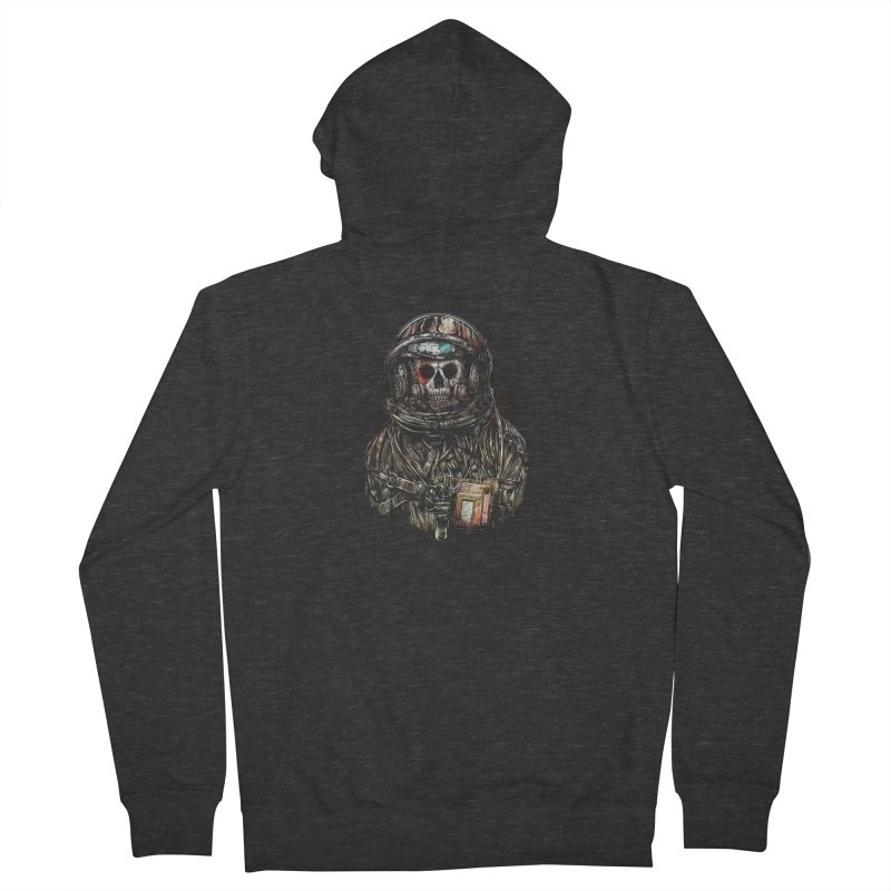 SPACE SONGS Men's French Terry Zip-Up Hoody by T.JEF