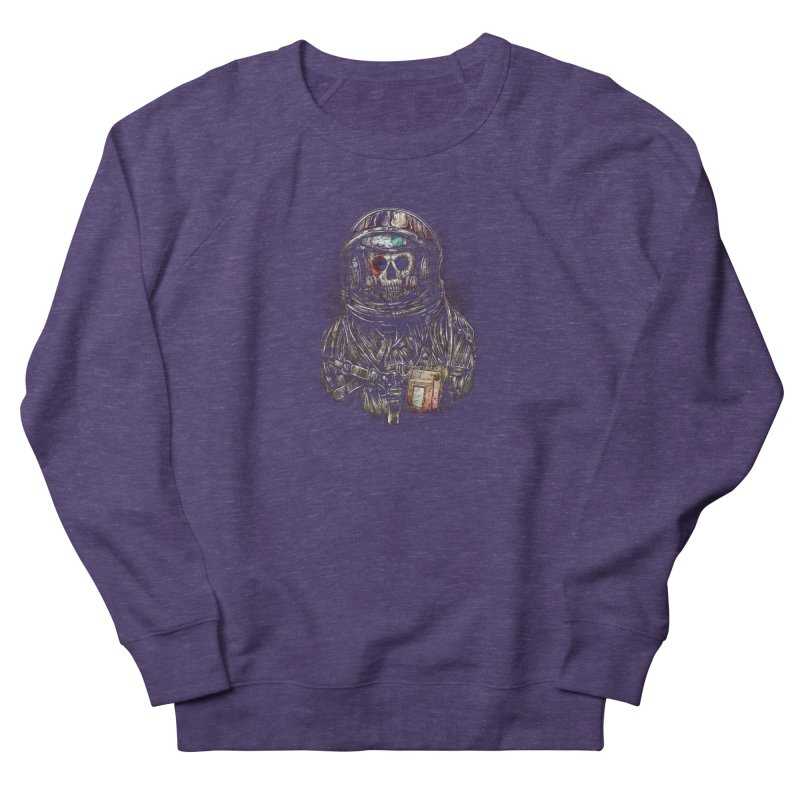 SPACE SONGS Women's French Terry Sweatshirt by T.JEF