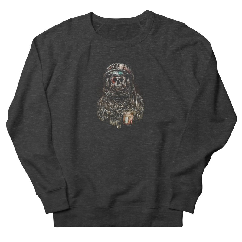 SPACE SONGS Men's French Terry Sweatshirt by T.JEF