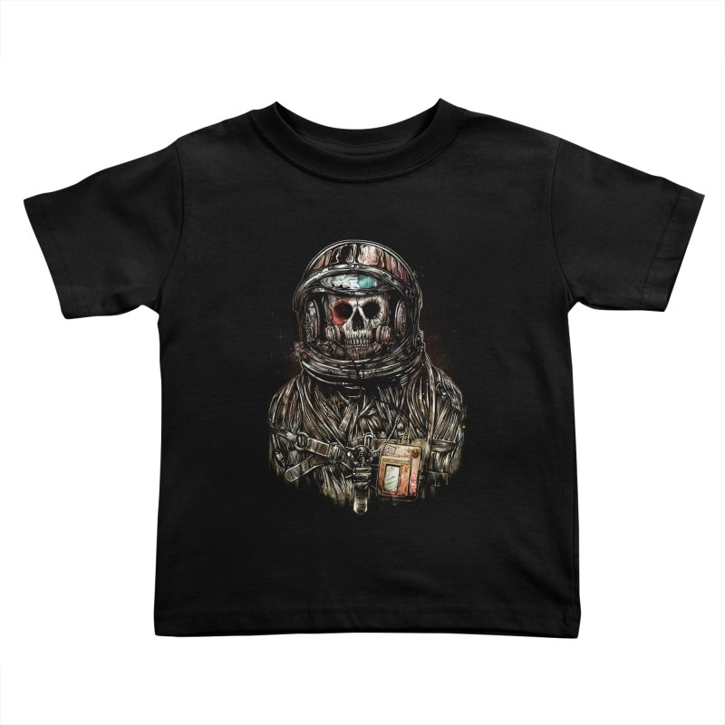 SPACE SONGS Kids Toddler T-Shirt by T.JEF