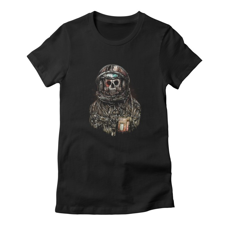 SPACE SONGS Women's Fitted T-Shirt by T.JEF