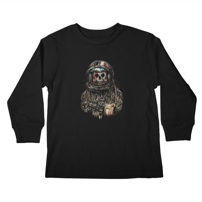 SPACE SONGS Kids Longsleeve T-Shirt by T.JEF