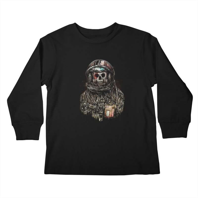 SPACE SONGS Kids Longsleeve T-Shirt by T.JEF