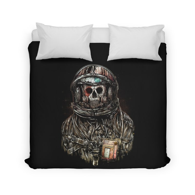 SPACE SONGS Home Duvet by T.JEF