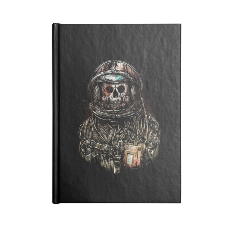 SPACE SONGS Accessories Lined Journal Notebook by T.JEF