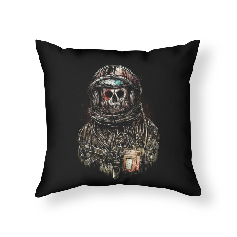 SPACE SONGS Home Throw Pillow by T.JEF