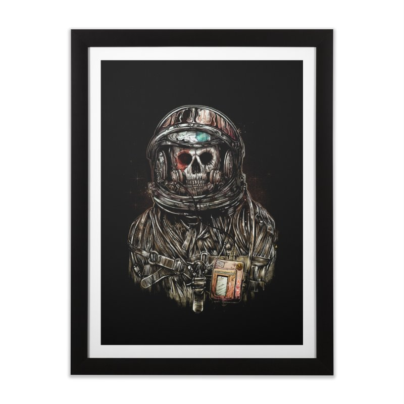 SPACE SONGS Home Framed Fine Art Print by T.JEF