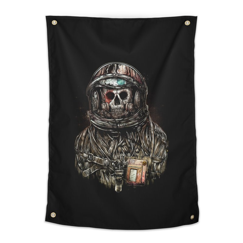 SPACE SONGS Home Tapestry by T.JEF