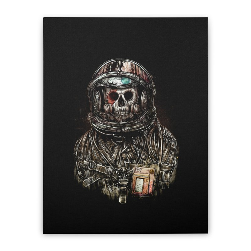 SPACE SONGS Home Stretched Canvas by T.JEF