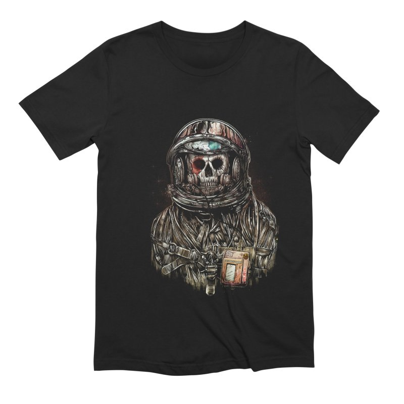 SPACE SONGS Men's Extra Soft T-Shirt by T.JEF