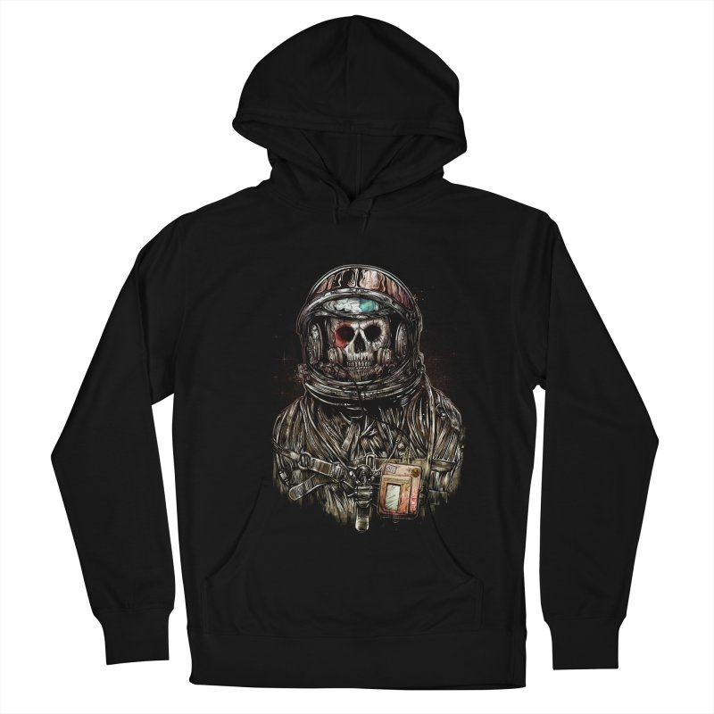 SPACE SONGS Men's French Terry Pullover Hoody by T.JEF