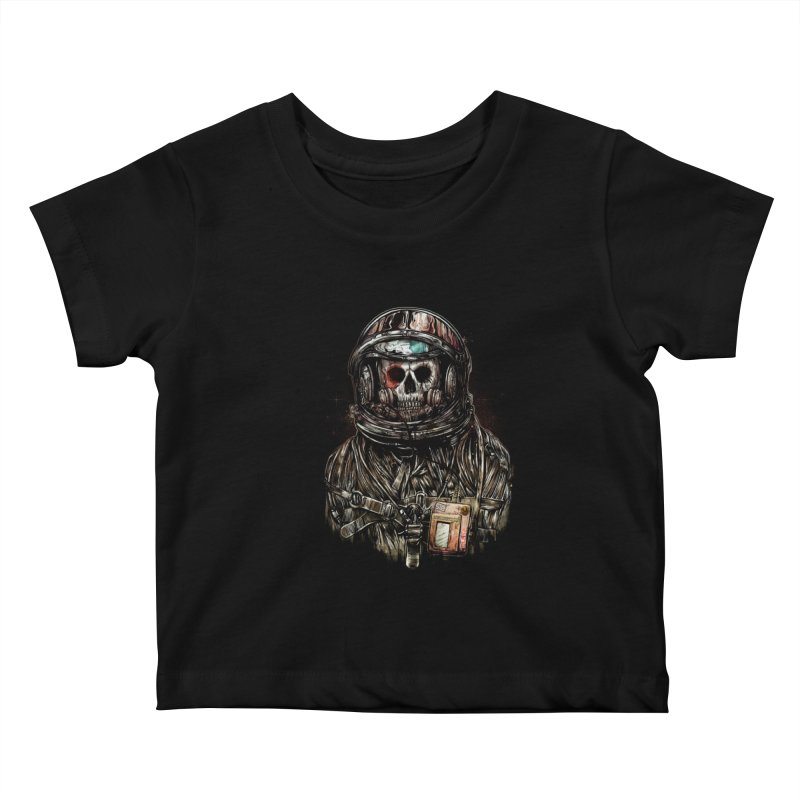 SPACE SONGS Kids Baby T-Shirt by T.JEF