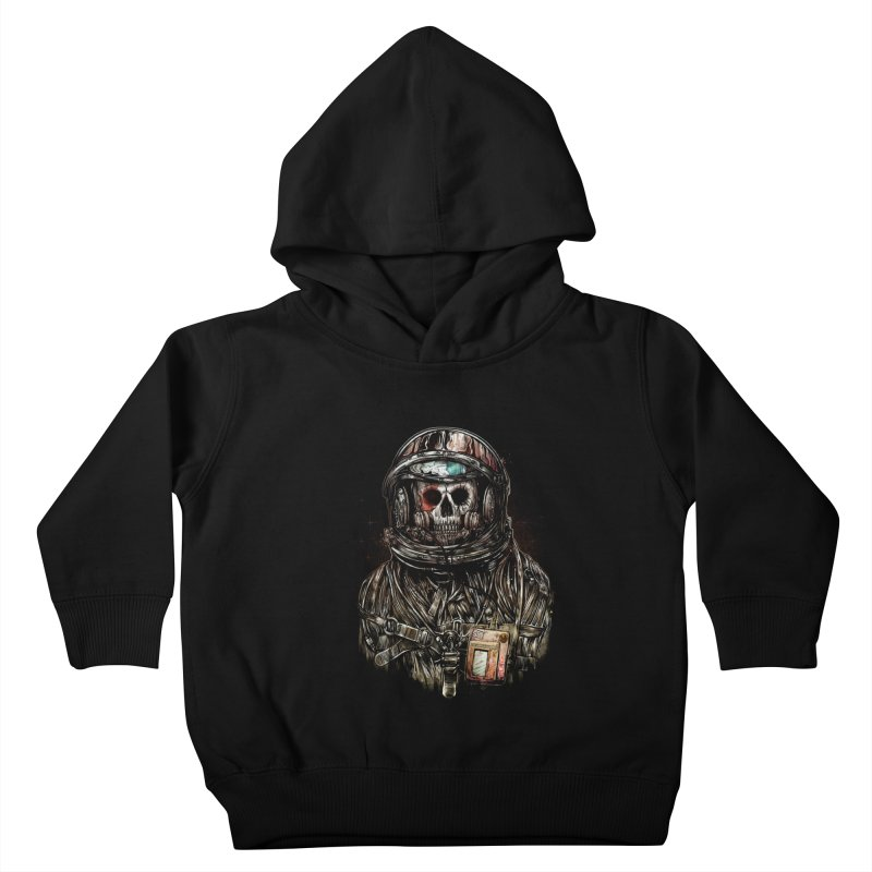 SPACE SONGS Kids Toddler Pullover Hoody by T.JEF