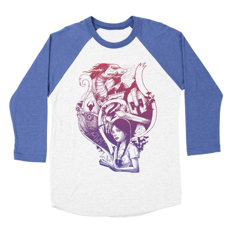 STORIES Men's Baseball Triblend Longsleeve T-Shirt by T.JEF