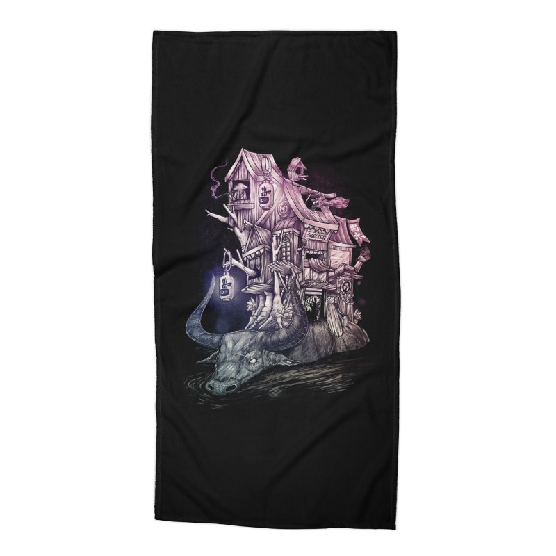 ITNERANT Accessories Beach Towel by T.JEF