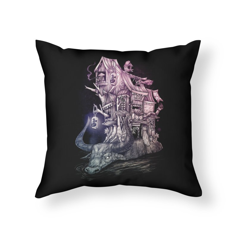 ITNERANT Home Throw Pillow by T.JEF