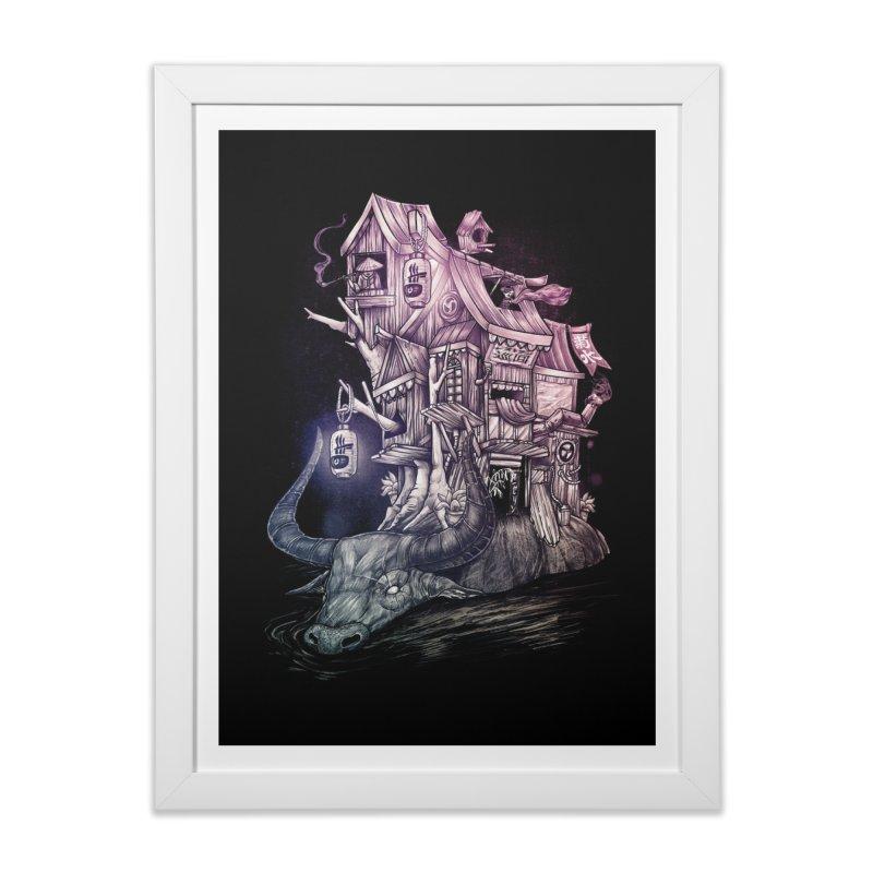 ITNERANT Home Framed Fine Art Print by T.JEF