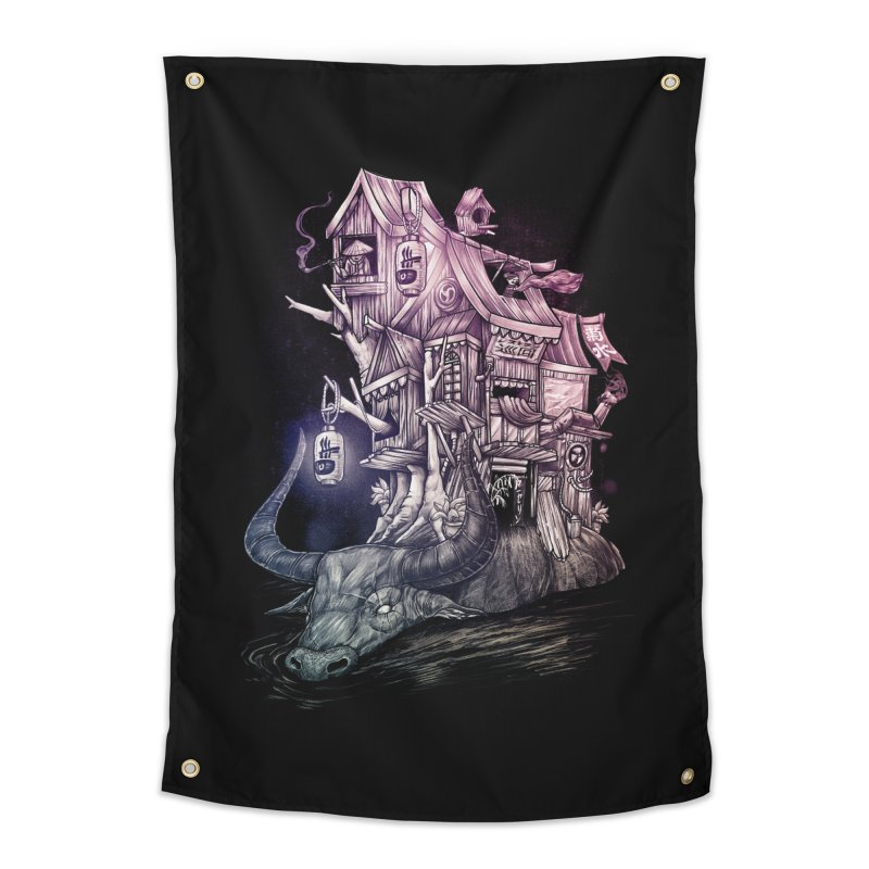 ITNERANT Home Tapestry by T.JEF