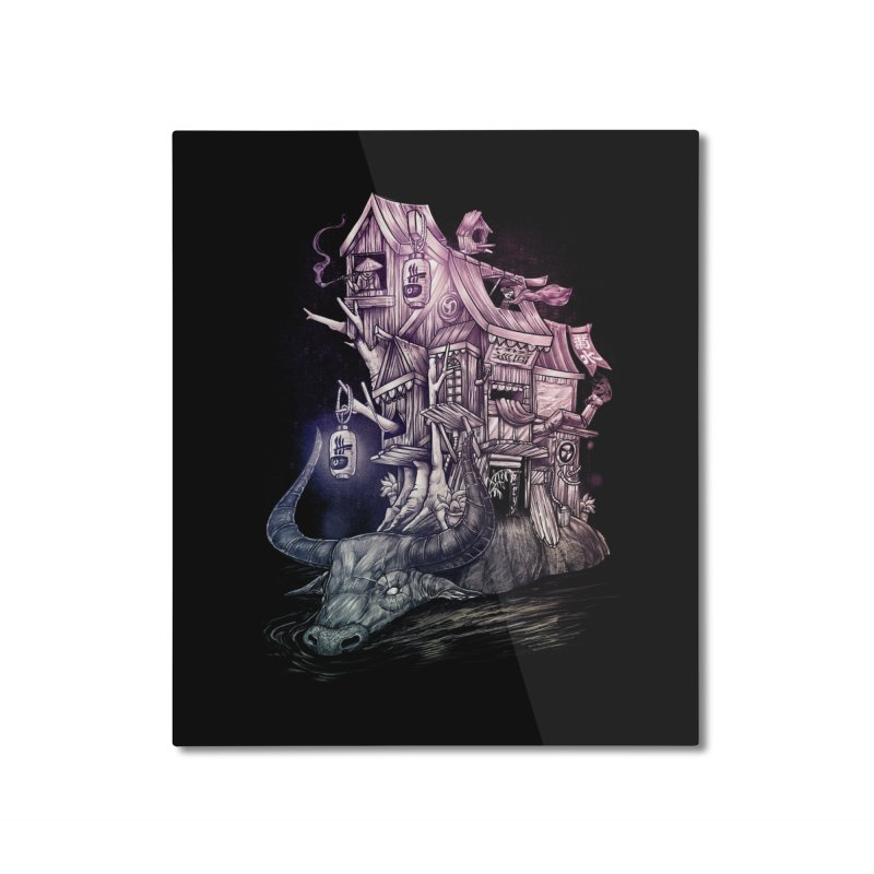 ITNERANT Home Mounted Aluminum Print by T.JEF