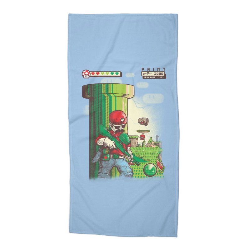 In mission Accessories Beach Towel by T.JEF