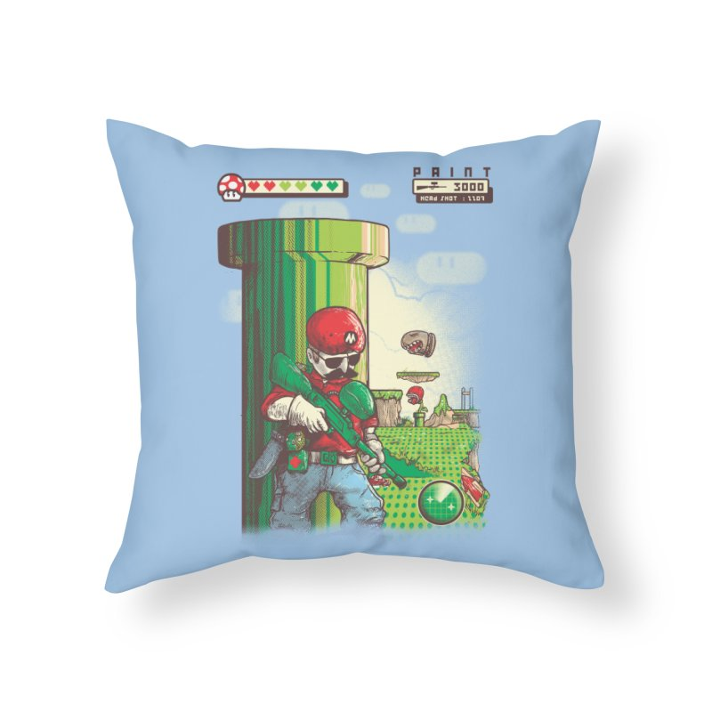 In mission Home Throw Pillow by T.JEF