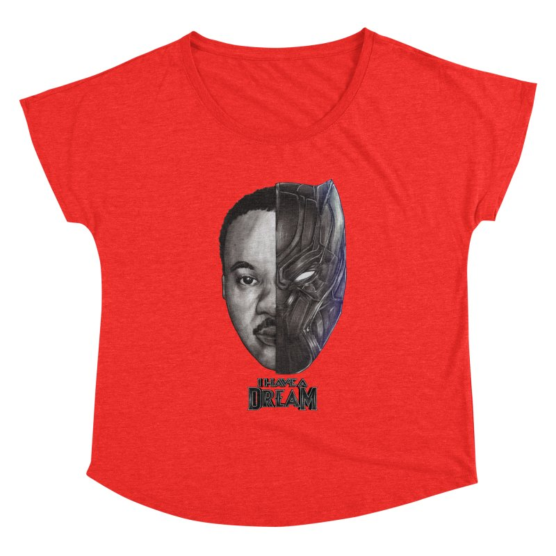 I HAVE A DREAM! Women's Scoop Neck by T.JEF