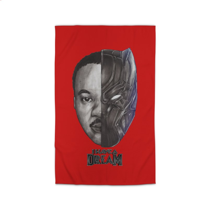 I HAVE A DREAM! Home Rug by T.JEF