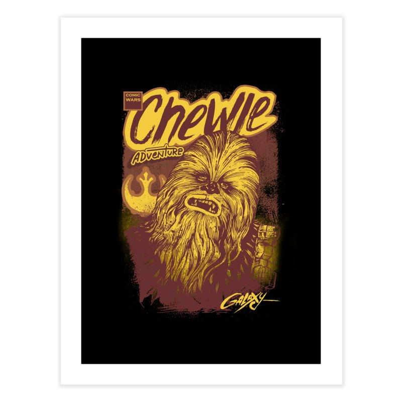 CHEWIE Home Fine Art Print by T.JEF