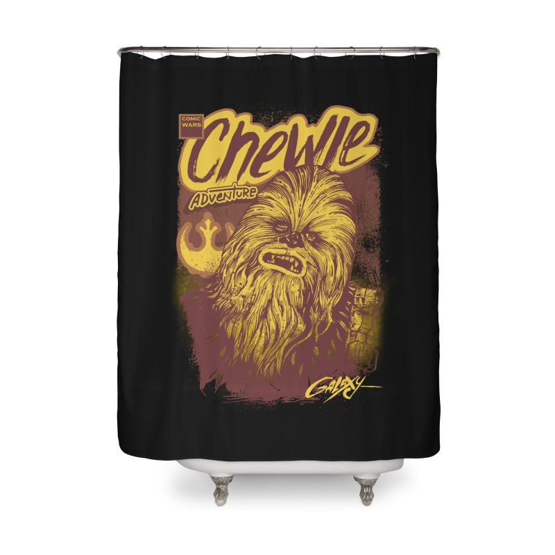 CHEWIE Home Shower Curtain by T.JEF