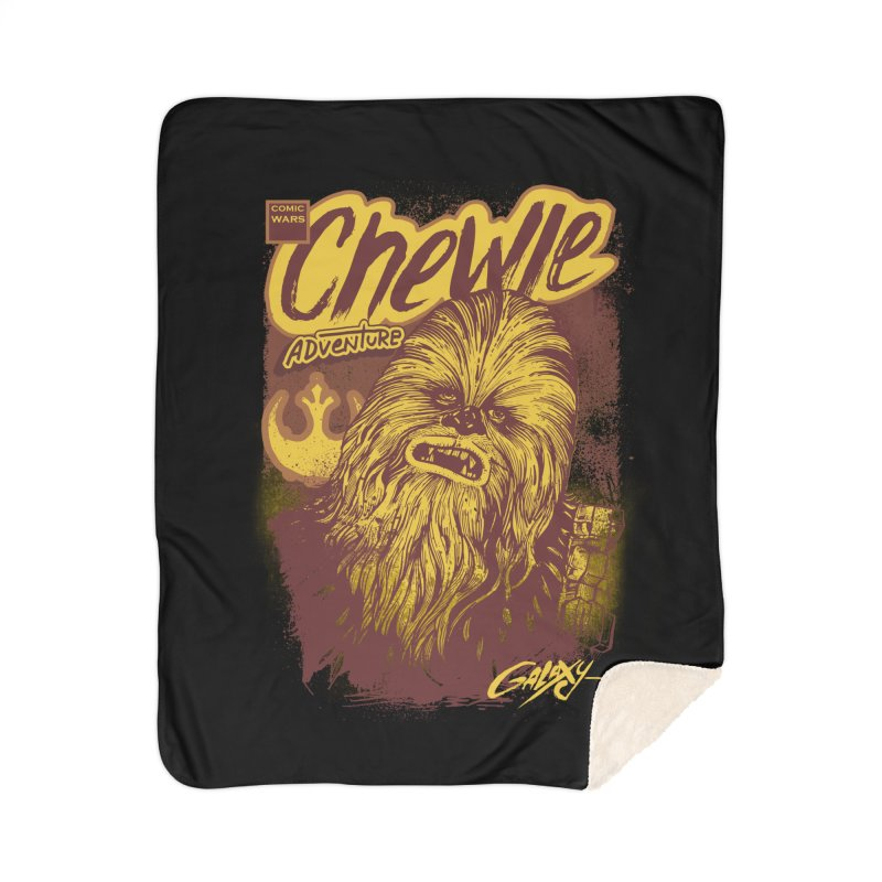 CHEWIE Home Sherpa Blanket Blanket by T.JEF