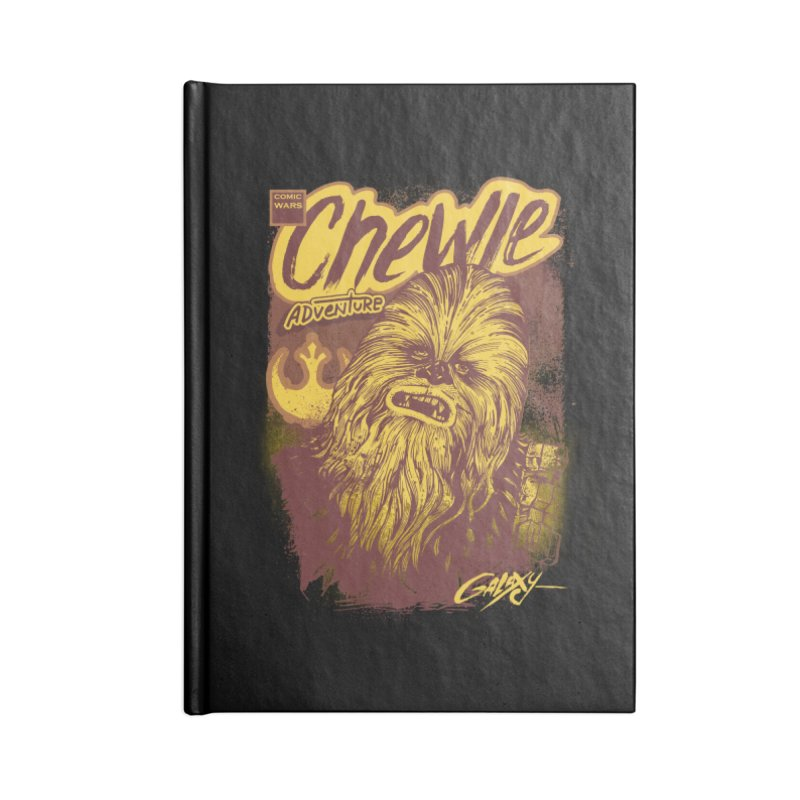 CHEWIE Accessories Blank Journal Notebook by T.JEF