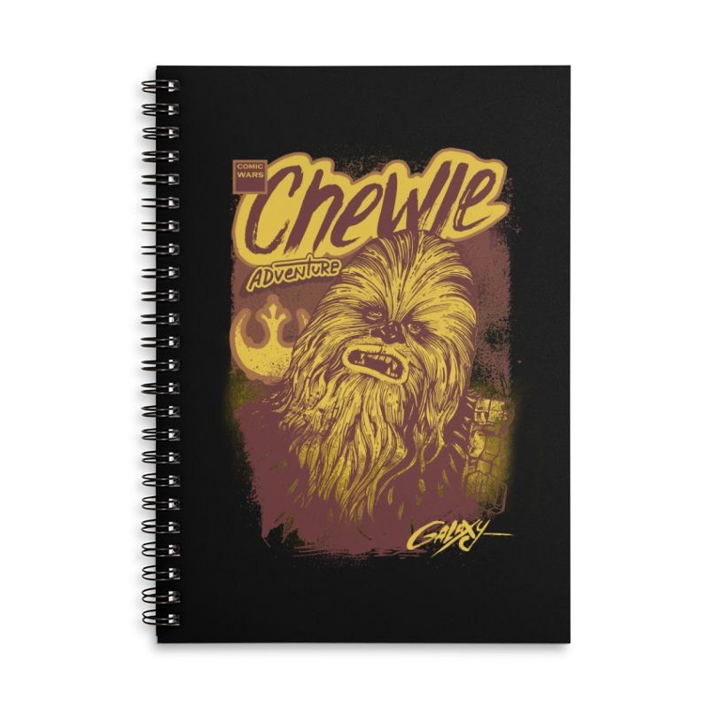CHEWIE Accessories Lined Spiral Notebook by T.JEF