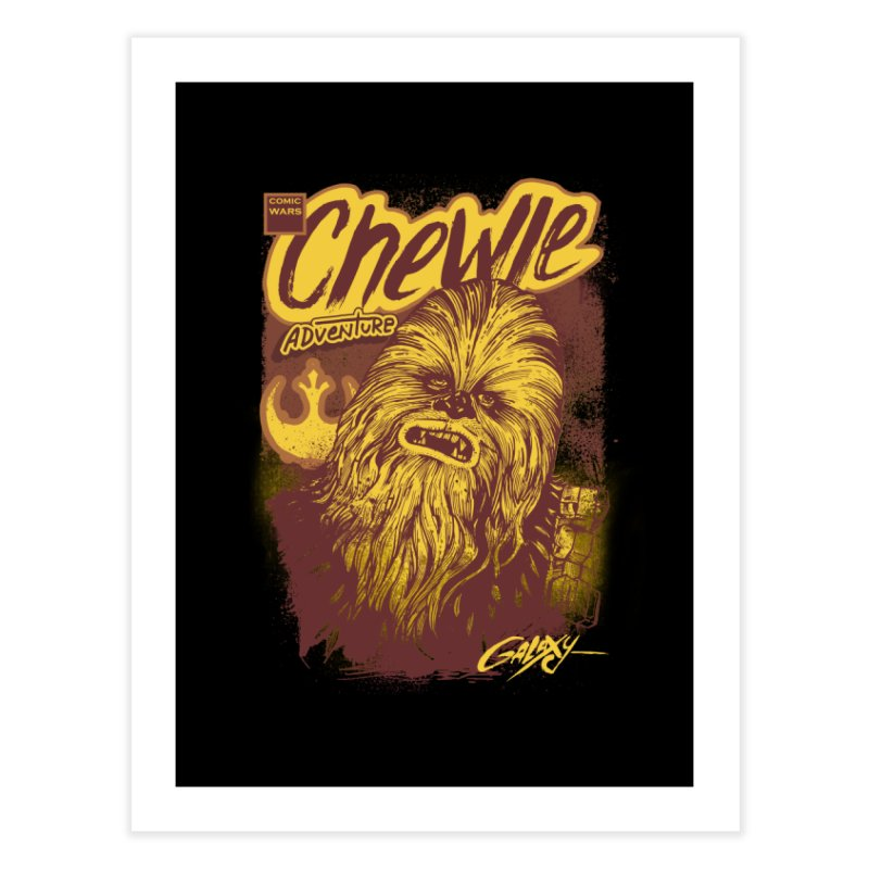 CHEWIE Home Fine Art Print by T.JEF