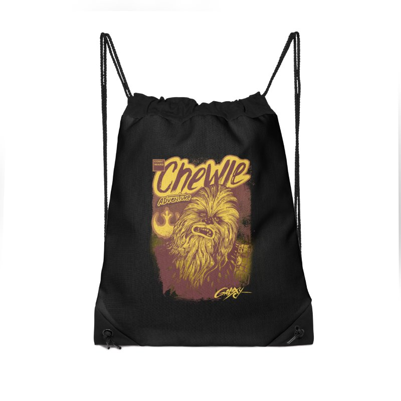 CHEWIE Accessories Drawstring Bag Bag by T.JEF