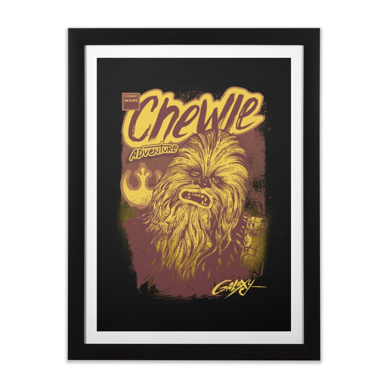 CHEWIE Home Framed Fine Art Print by T.JEF