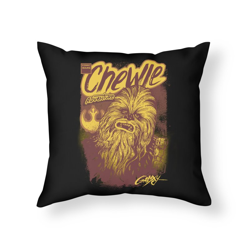 CHEWIE Home Throw Pillow by T.JEF
