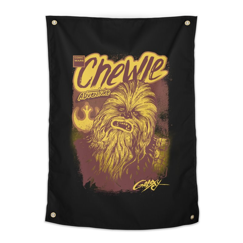 CHEWIE Home Tapestry by T.JEF