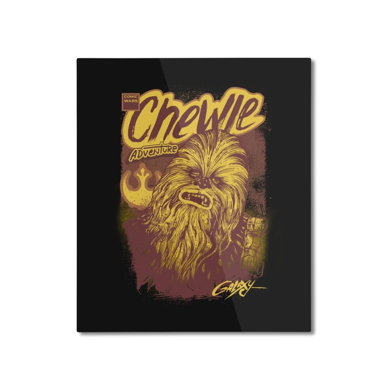 CHEWIE Home Mounted Aluminum Print by T.JEF