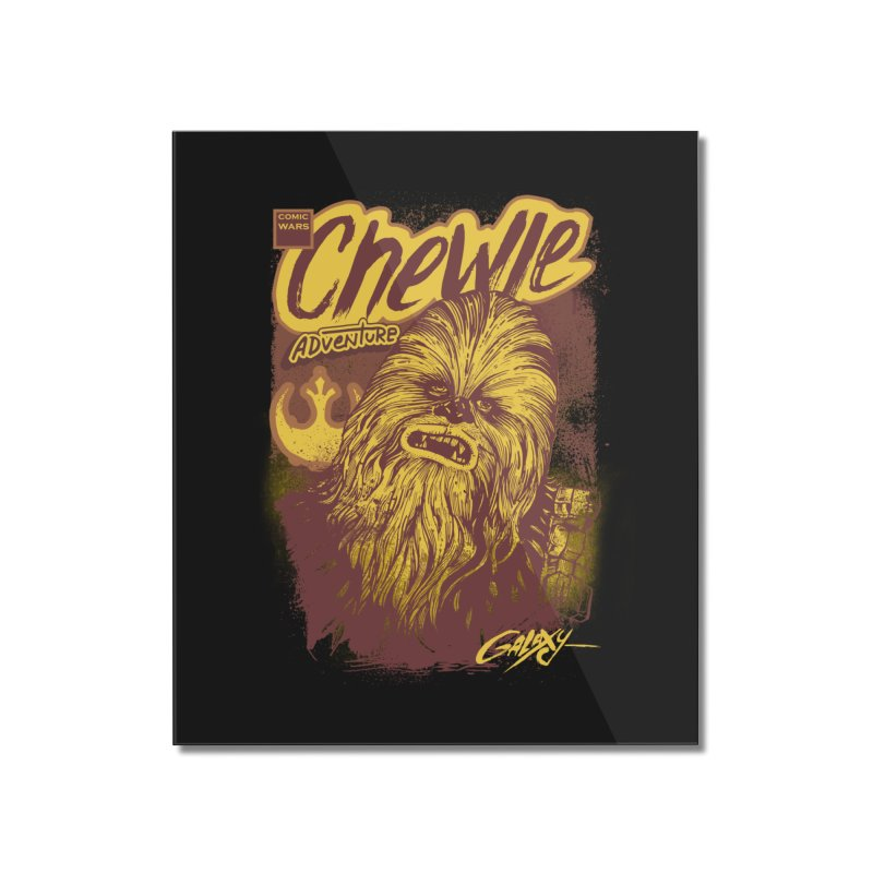 CHEWIE Home Mounted Acrylic Print by T.JEF