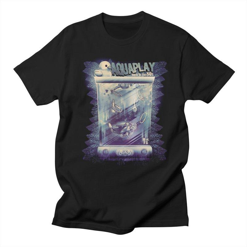 AQUAPLAY Women's Regular Unisex T-Shirt by T.JEF