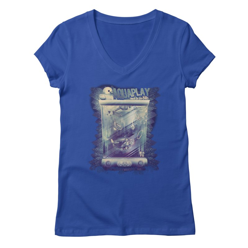 AQUAPLAY Women's V-Neck by T.JEF