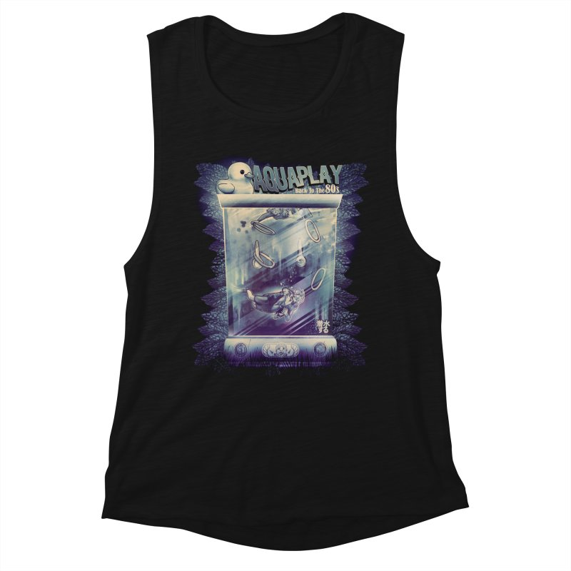 AQUAPLAY Women's Muscle Tank by T.JEF