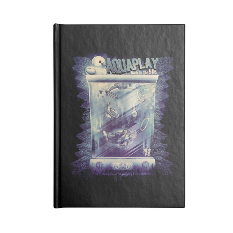 AQUAPLAY Accessories Blank Journal Notebook by T.JEF